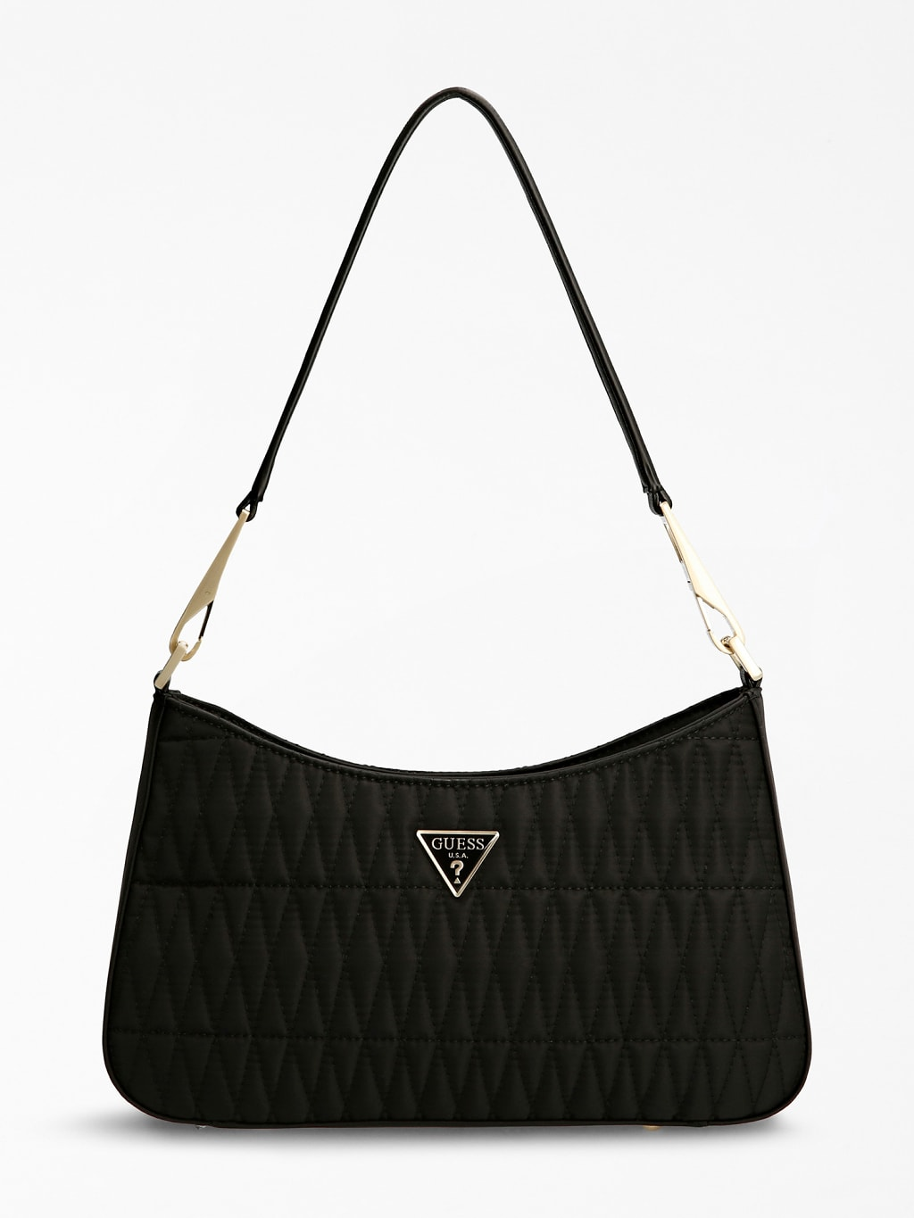 Layla Quilted Shoulder Bag, £95, GUESS