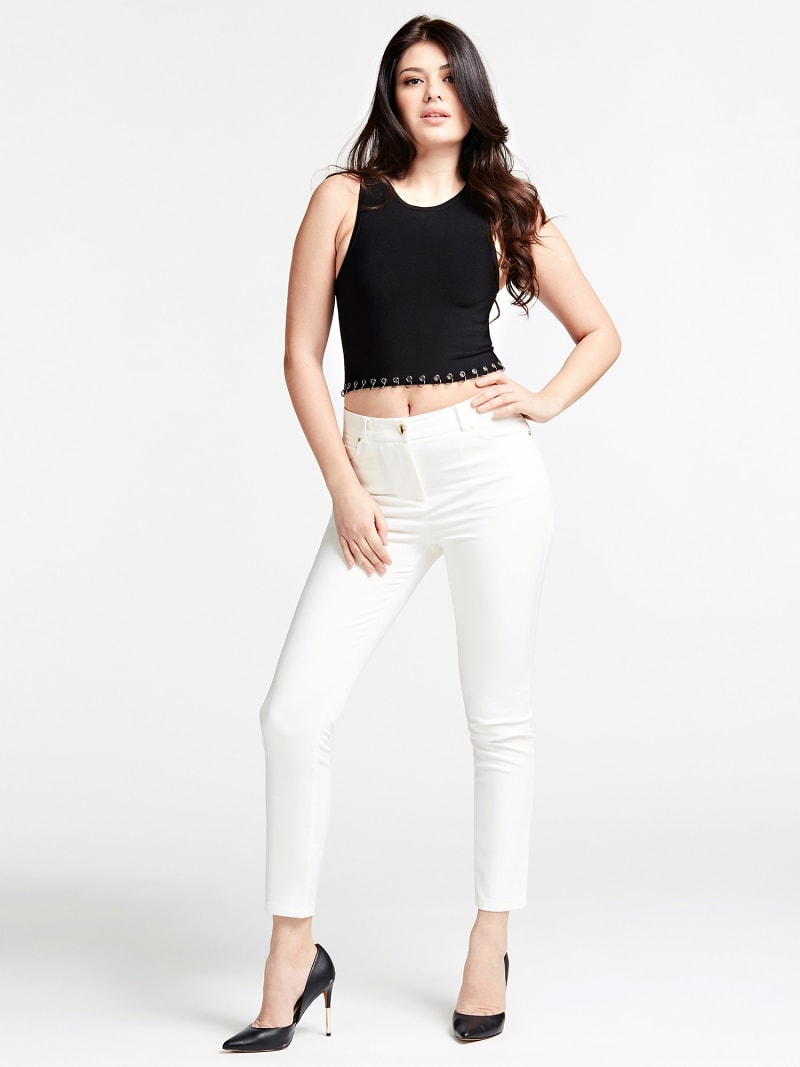 MARCIANO SKINNY PANT image number 1