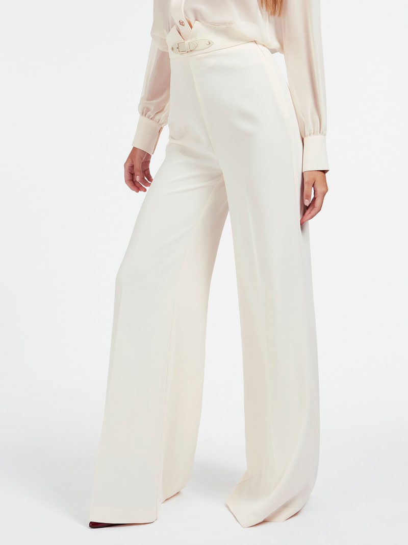 MARCIANO BUCKLE CREPE PANT image number 0