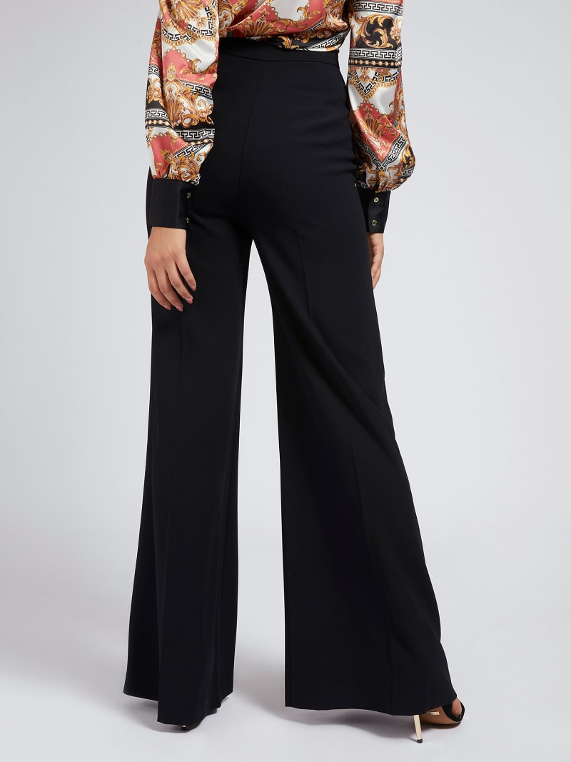MARCIANO BUCKLE CREPE PANT image number 2