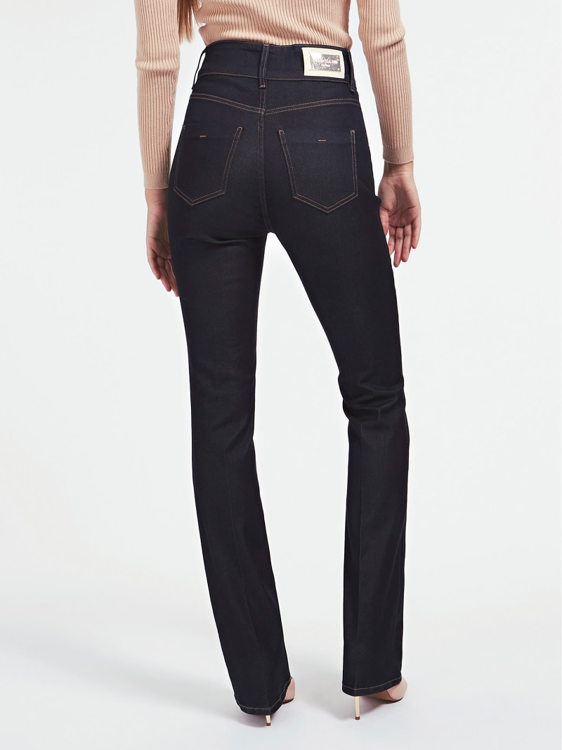 MARCIANO FLARE DENIM PANT image number 2