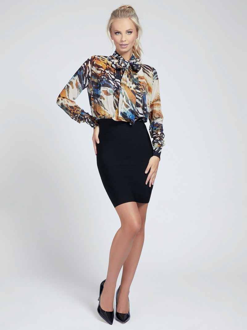 MARCIANO BLUSE ANIMAL-PRINT image number 1