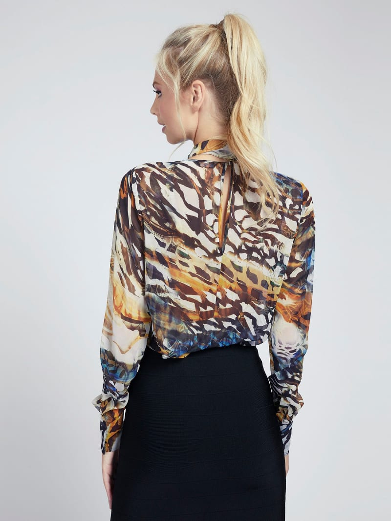 MARCIANO BLUSE ANIMAL-PRINT image number 2