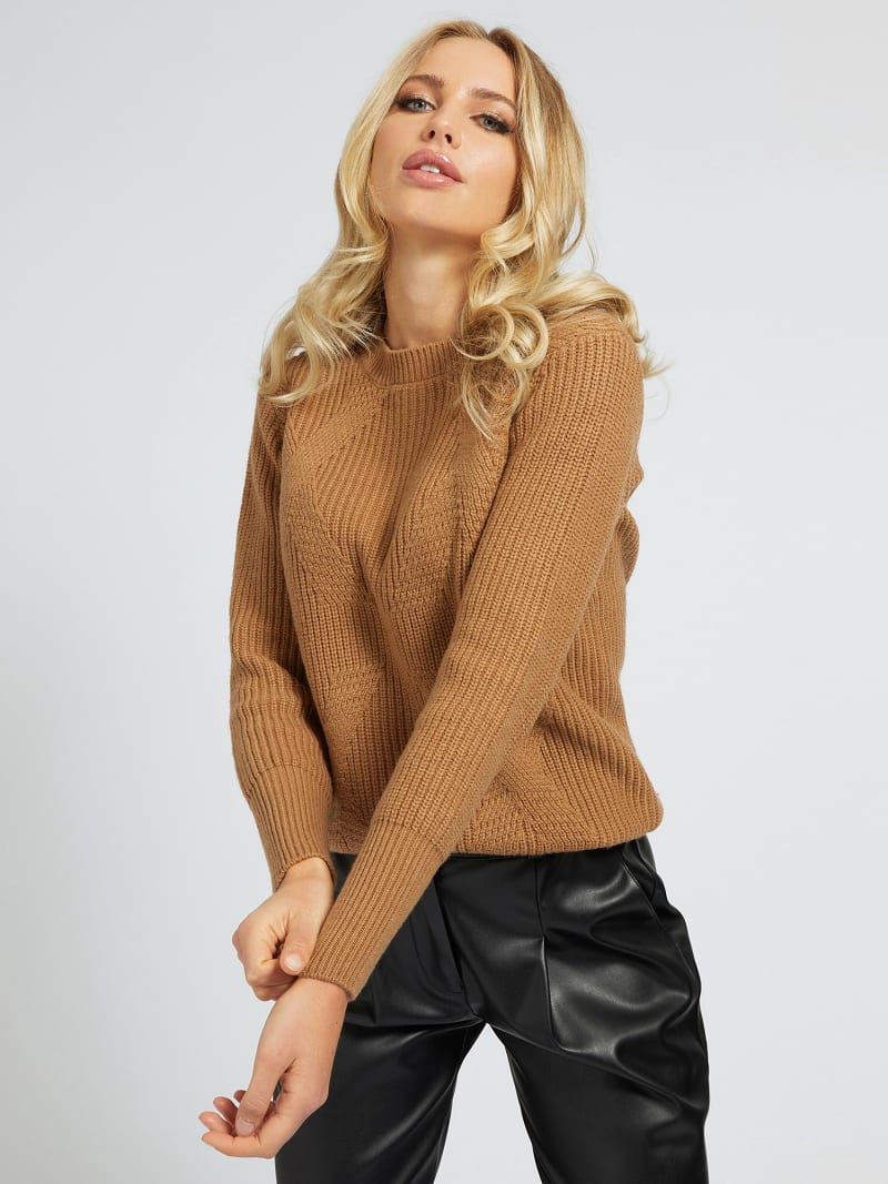 MARCIANO WOOL BLEND SWEATER image number 0