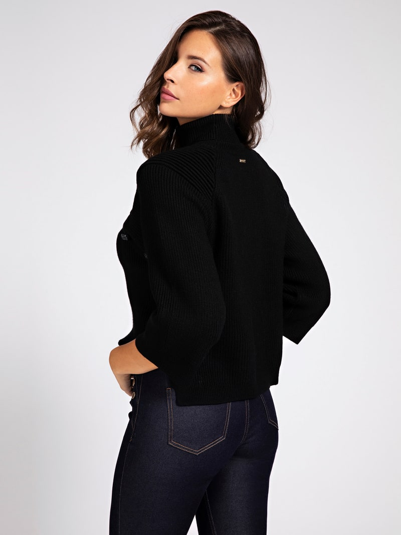 MARCIANO WOOL BLEND SWEATER image number 2