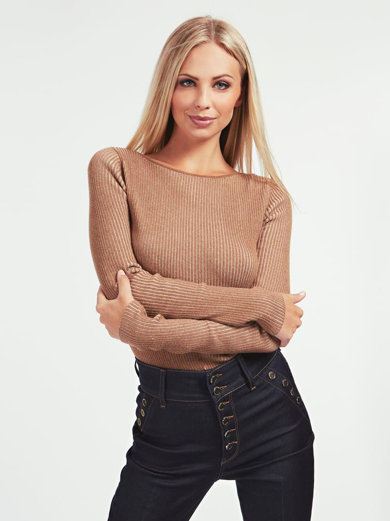 MARCIANO RIB SWEATER-OBERTEIL image number 0