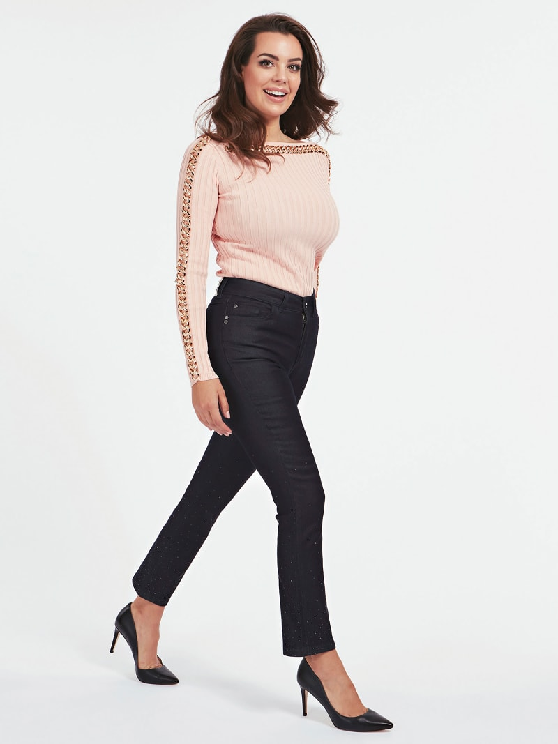 MARCIANO RIB SWEATER image number 1