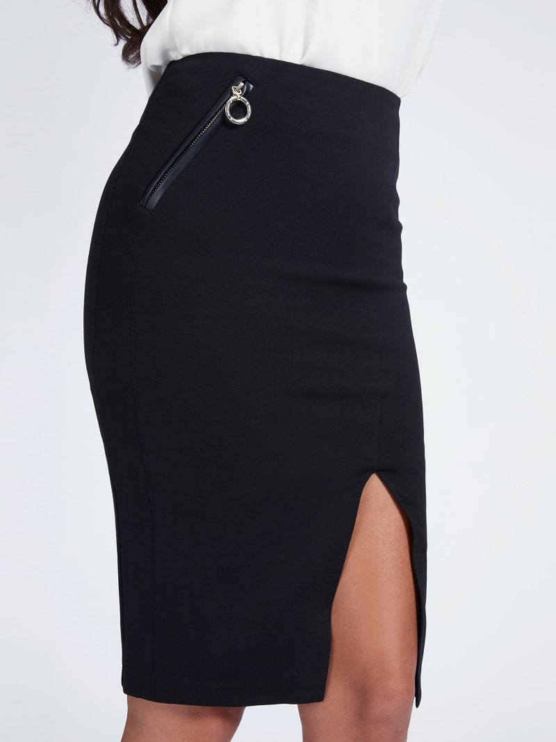 MARCIANO PONTE KNIT SKIRT image number 0