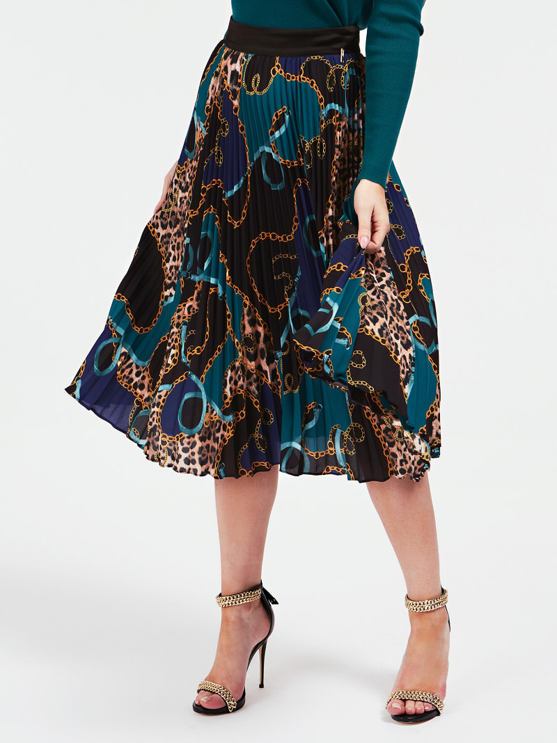 MARCIANO ALL OVER PRINT SKIRT image number 0