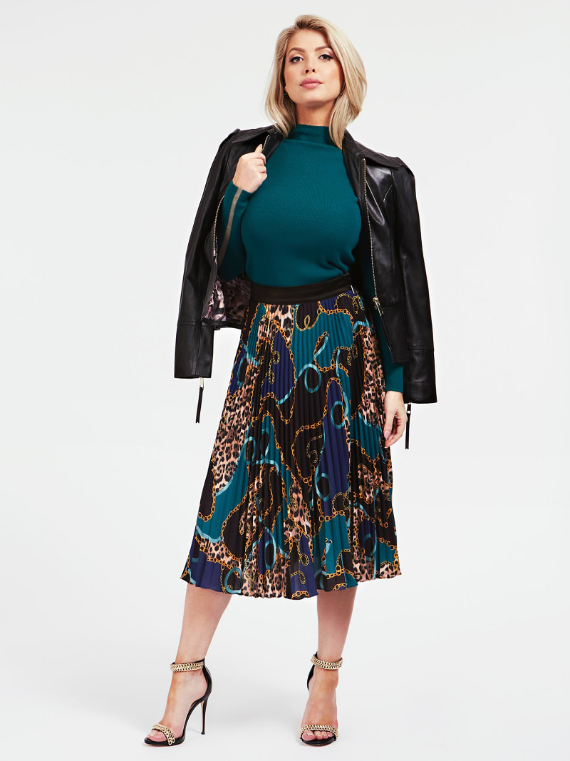 MARCIANO ALL OVER PRINT SKIRT image number 1