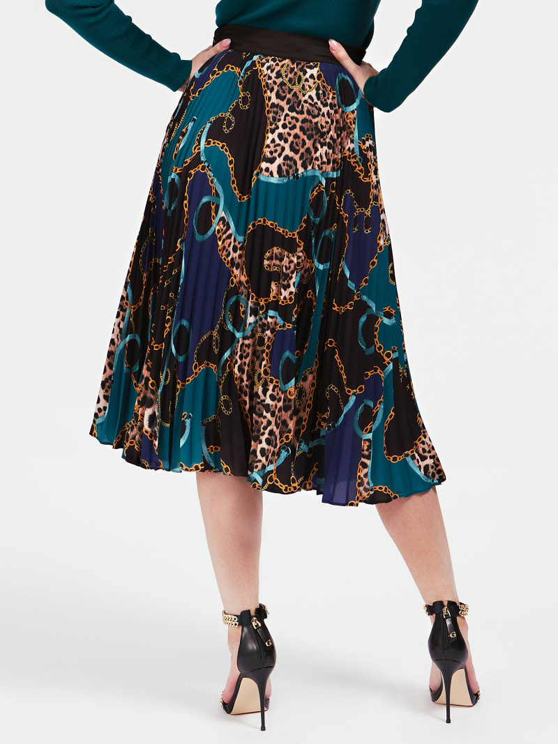MARCIANO ALL OVER PRINT SKIRT image number 2
