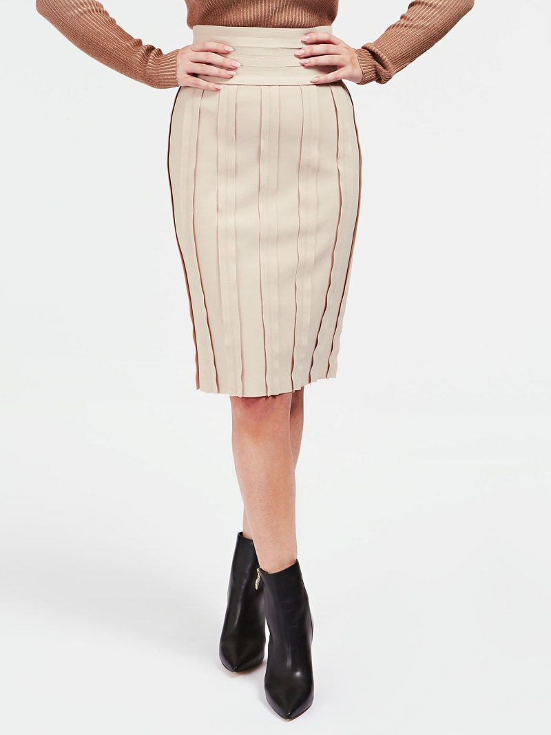 MARCIANO RAW CUT SKIRT image number 0