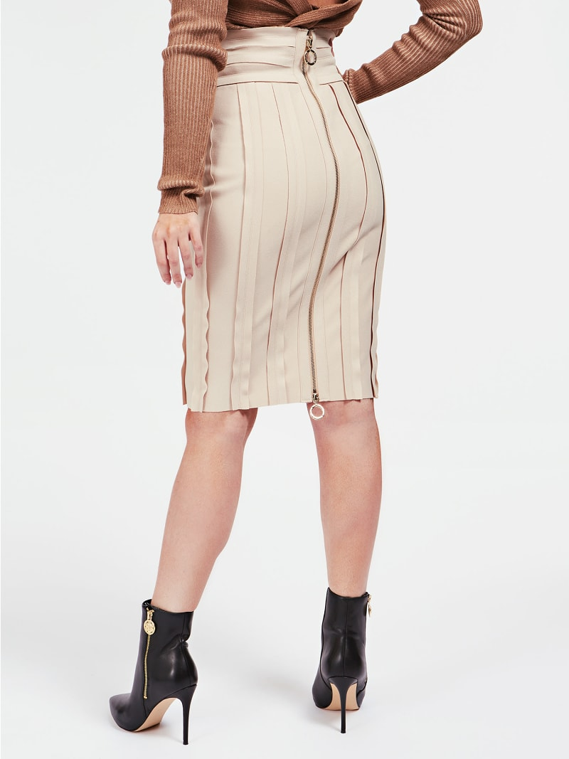 MARCIANO RAW CUT SKIRT image number 2