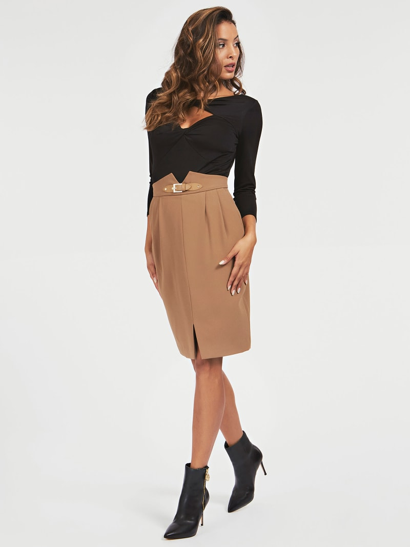 MARCIANO BUCKLE SKIRT image number 1