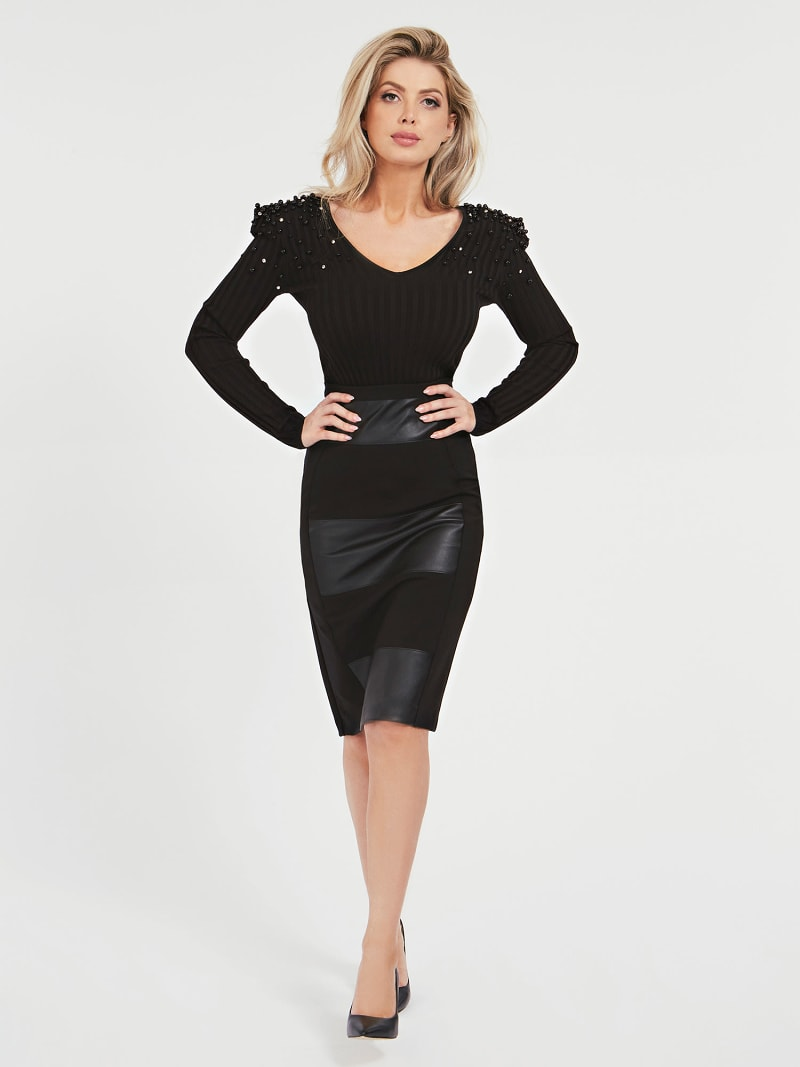 MARCIANO LONGUETTE SKIRT image number 1