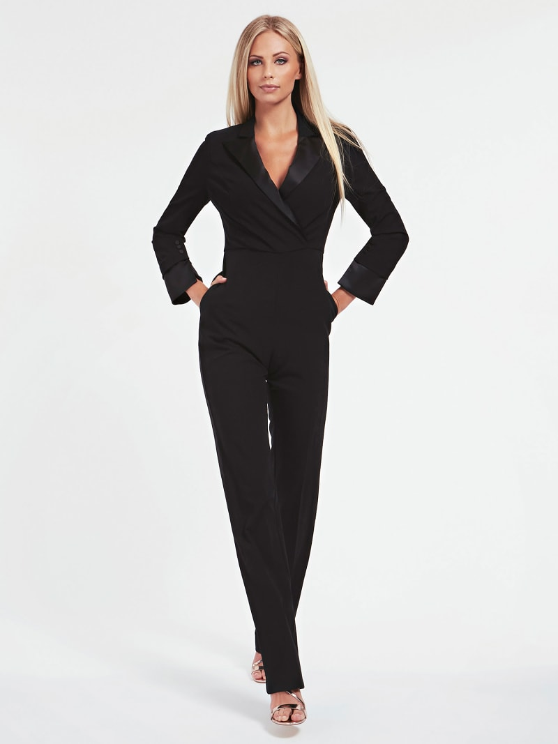 MARCIANO LUREX YARN JUMPSUIT image number 0