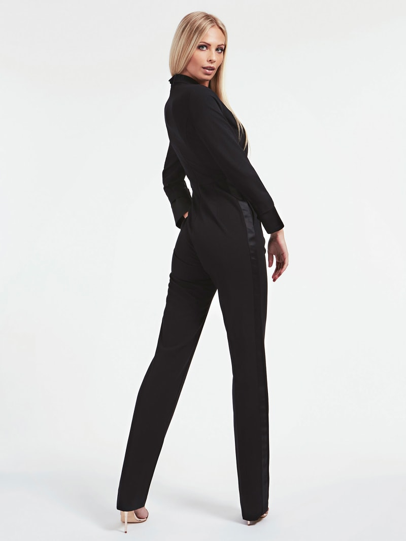 MARCIANO LUREX YARN JUMPSUIT image number 1
