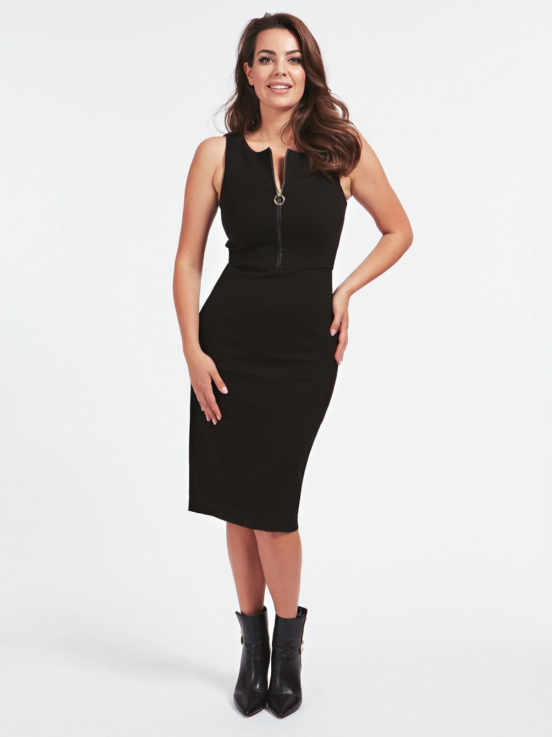 MARCIANO PONTE KNIT DRESS image number 0