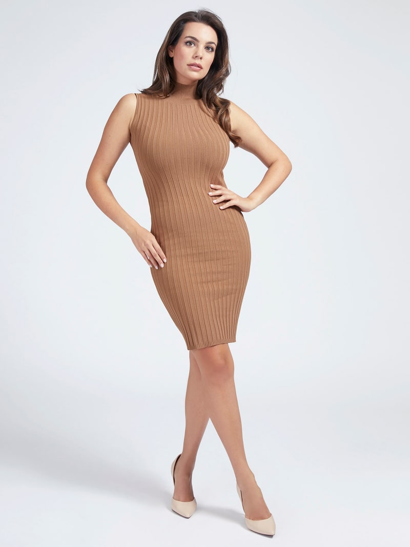 MARCIANO RIB DRESS image number 0