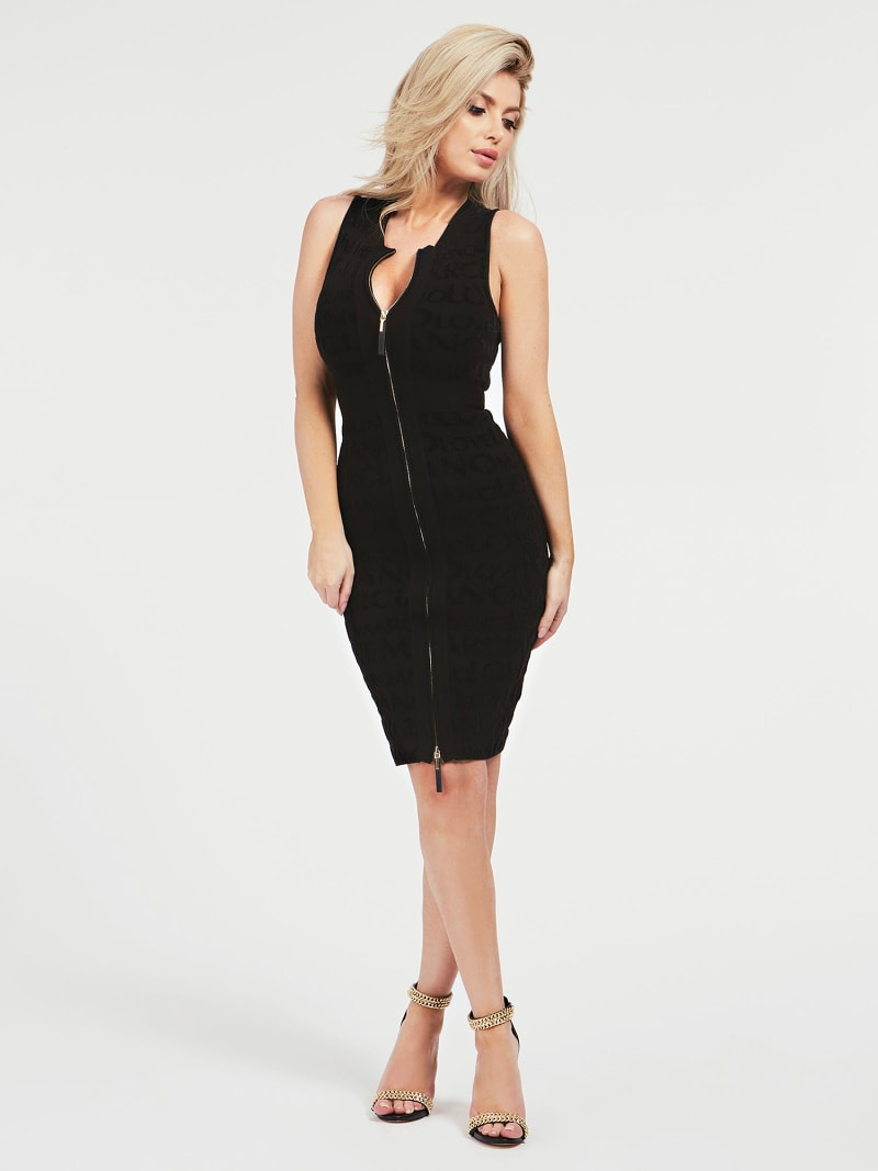 MARCIANO JACQUARD DRESS image number 0