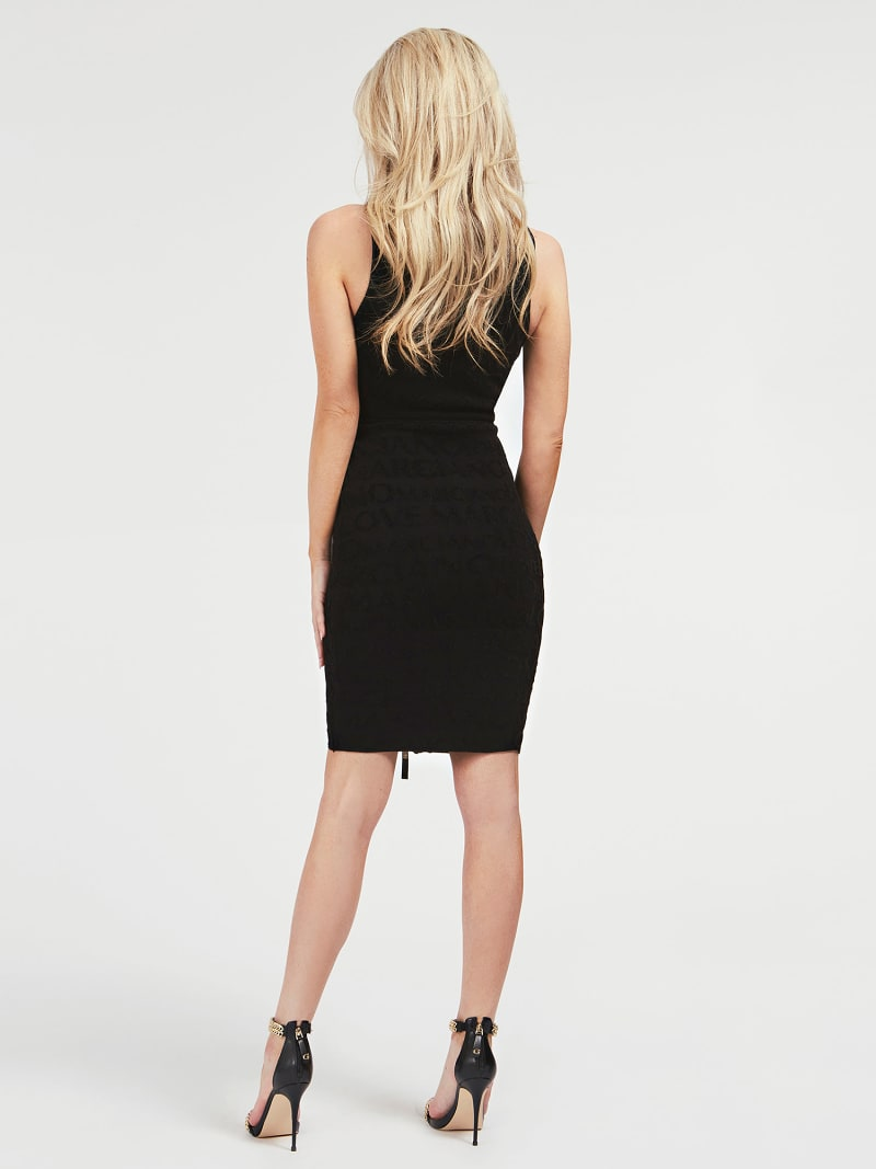 MARCIANO JACQUARD DRESS image number 1