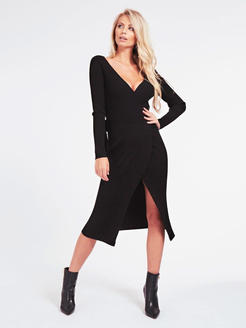 MARCIANO WRAP UP DRESS image number 1
