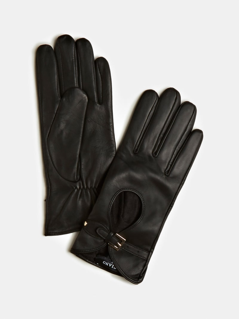 MARCIANO BUCKLE LEATHER GLOVES image number 0