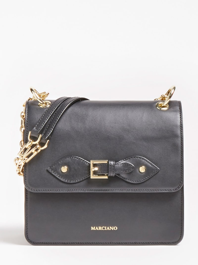 MARCIANO LEATHER CROSSBODY image number 0