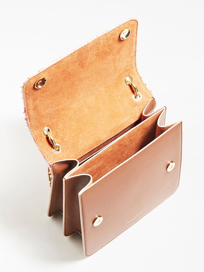 MARCIANO LEATHER CROSSBODY image number 3