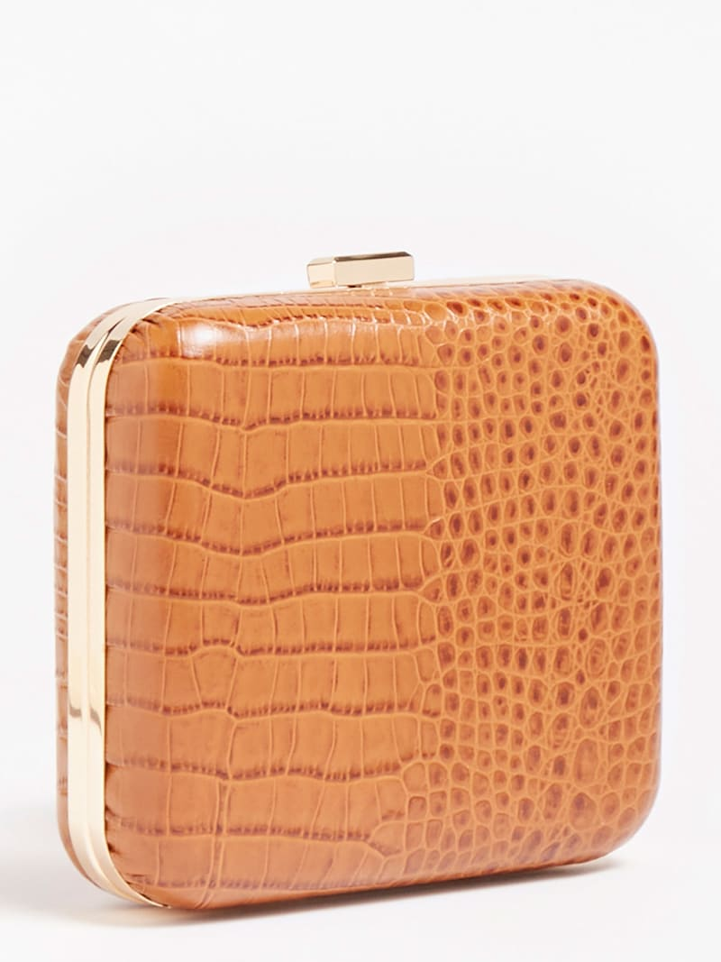 MARCIANO CROC EFFECT CLUTCH image number 2