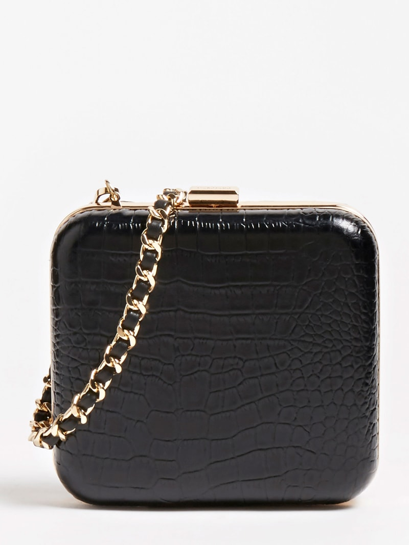 MARCIANO CROC EFFECT CLUTCH image number 0