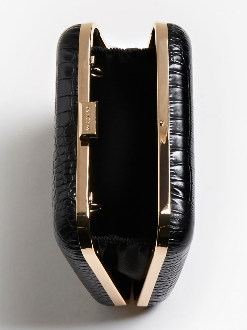 MARCIANO CROC EFFECT CLUTCH image number 3