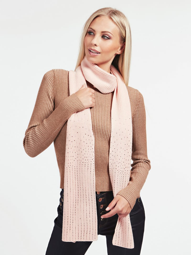 MARCIANO WOOL SCARF image number 2