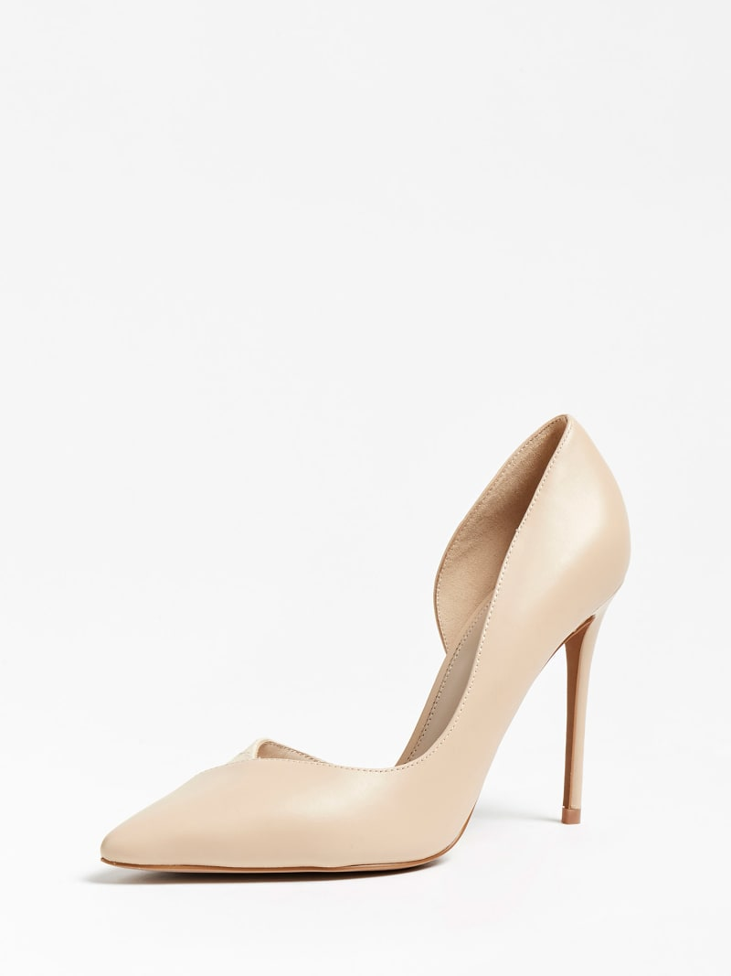 MARCIANO CHIC LEATHER PUMP image number 0