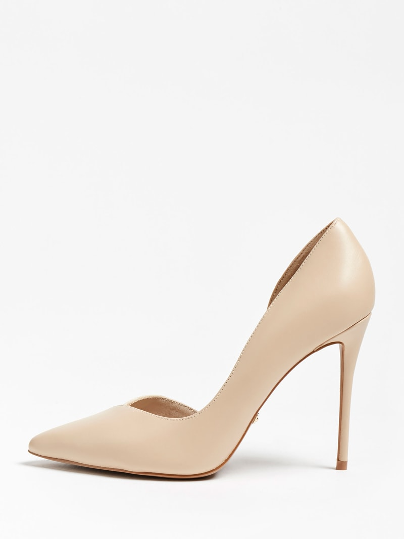 MARCIANO CHIC LEATHER PUMP image number 1