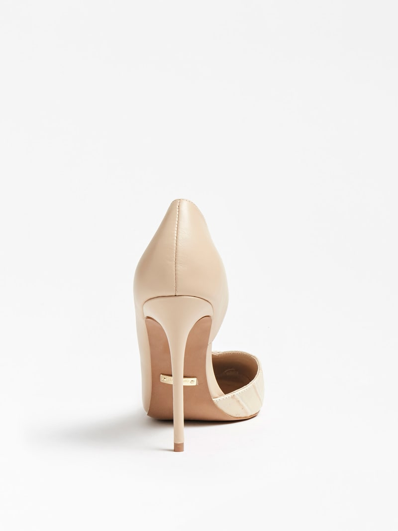 MARCIANO CHIC LEATHER PUMP image number 2