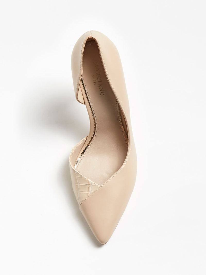 MARCIANO CHIC LEATHER PUMP image number 3