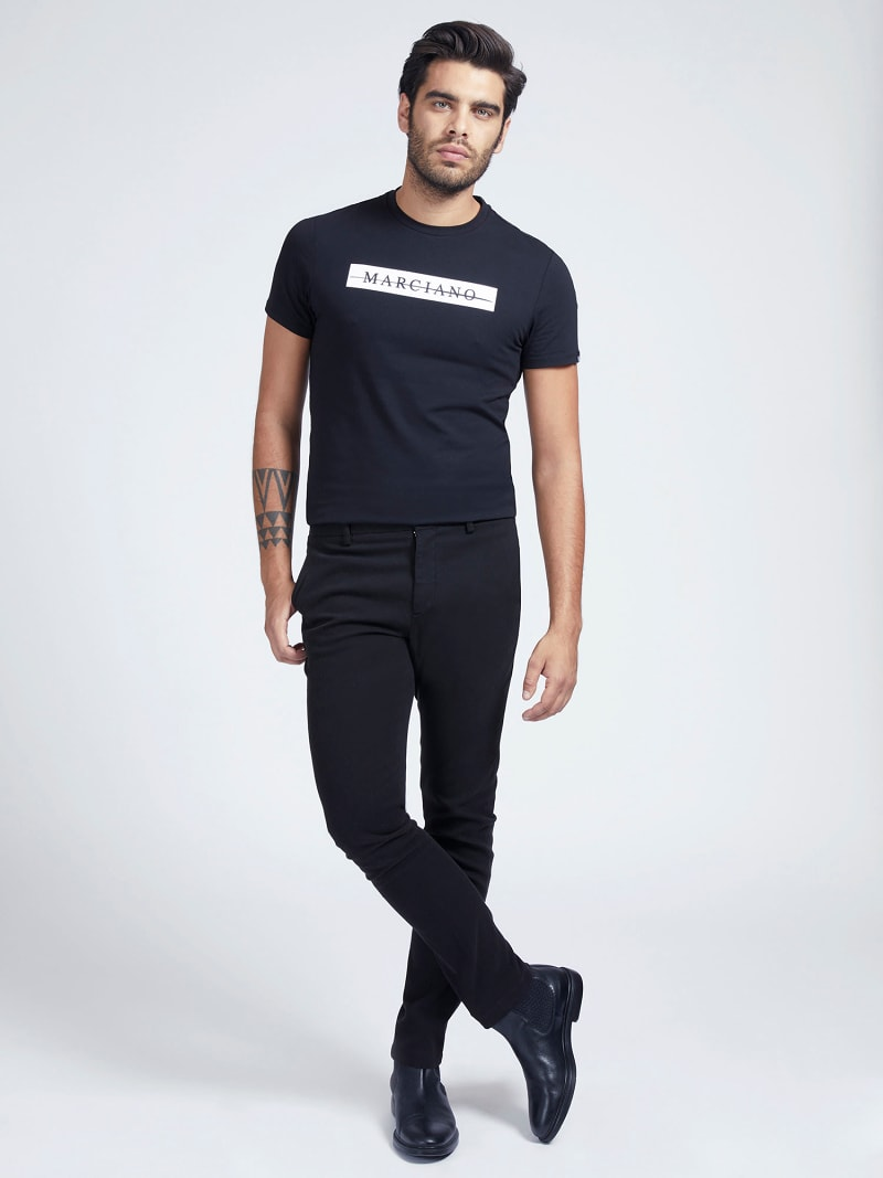 MARCIANO SLIM FIT PANTS image number 1