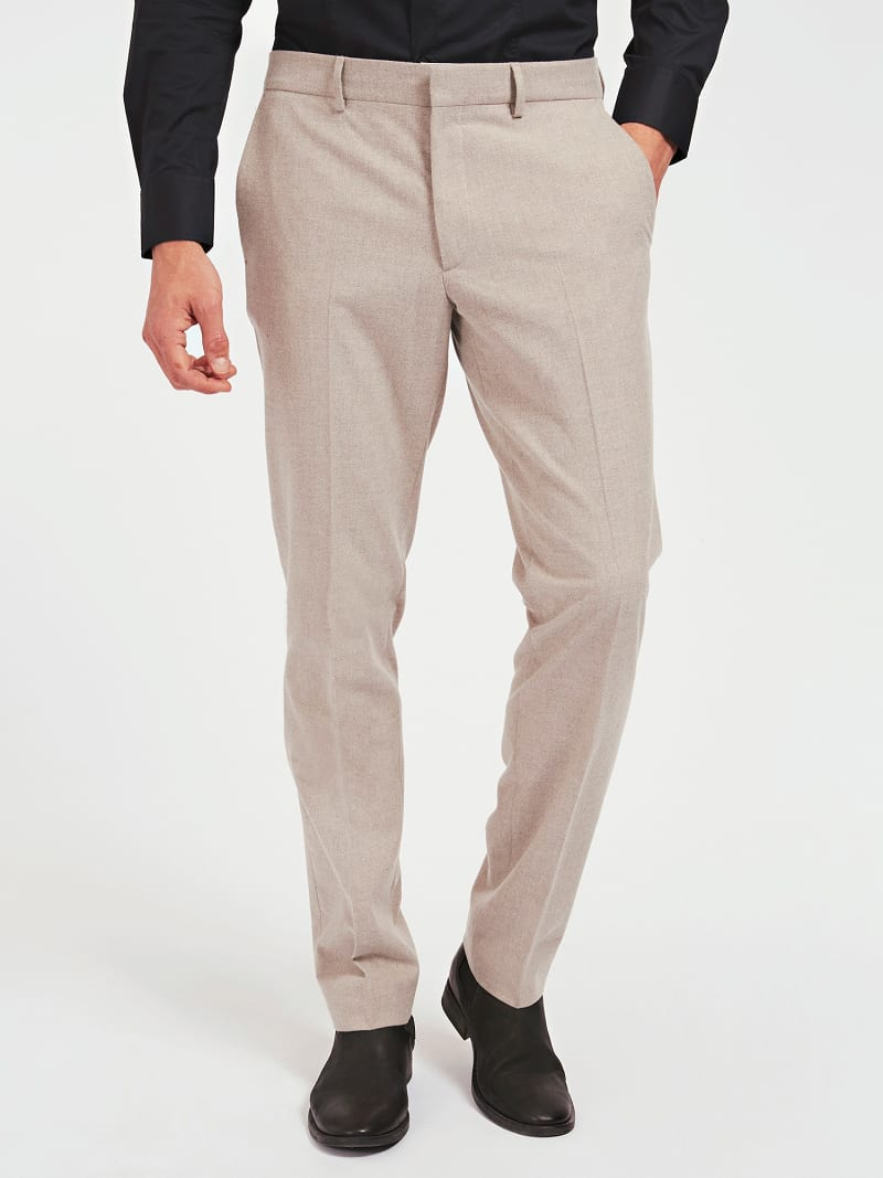MARCIANO MELANGE PANTS image number 0