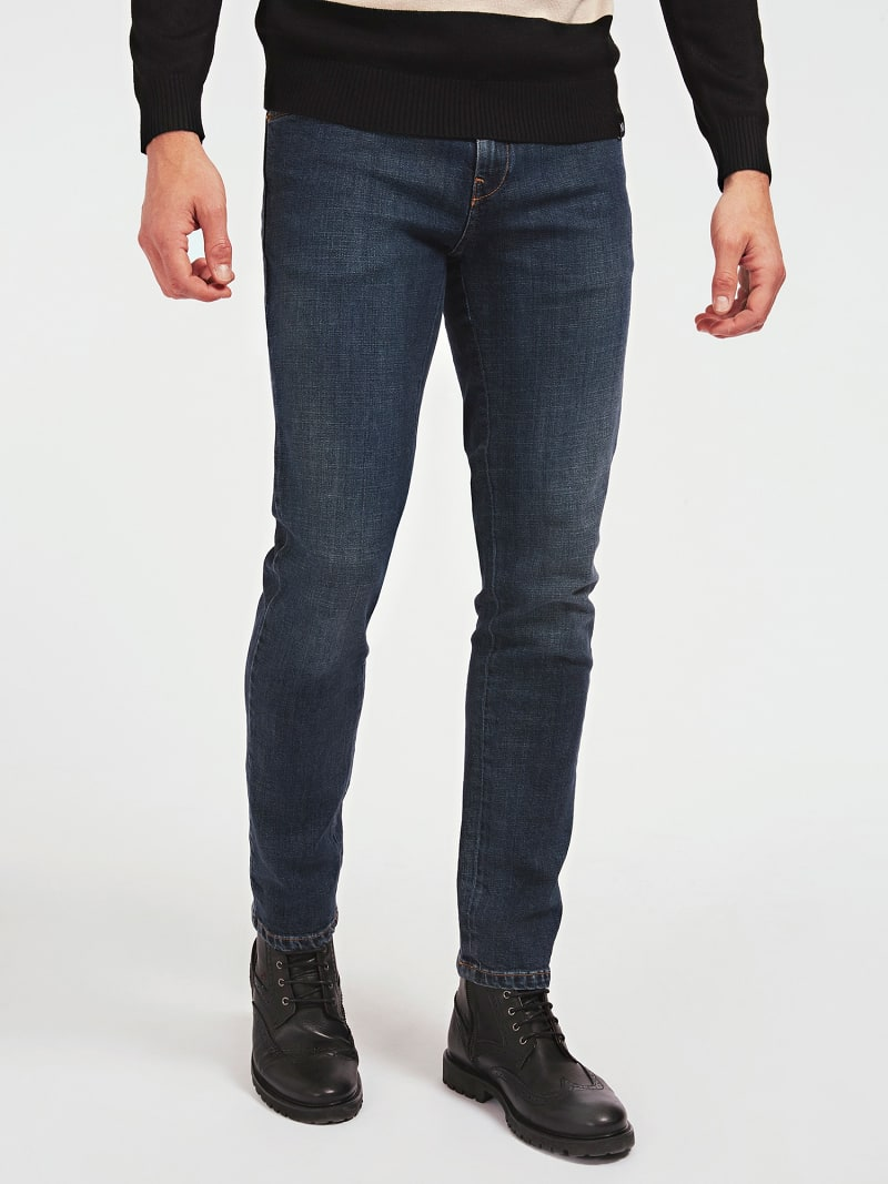 MARCIANO SLIM FIT DENIM HOSE image number 0