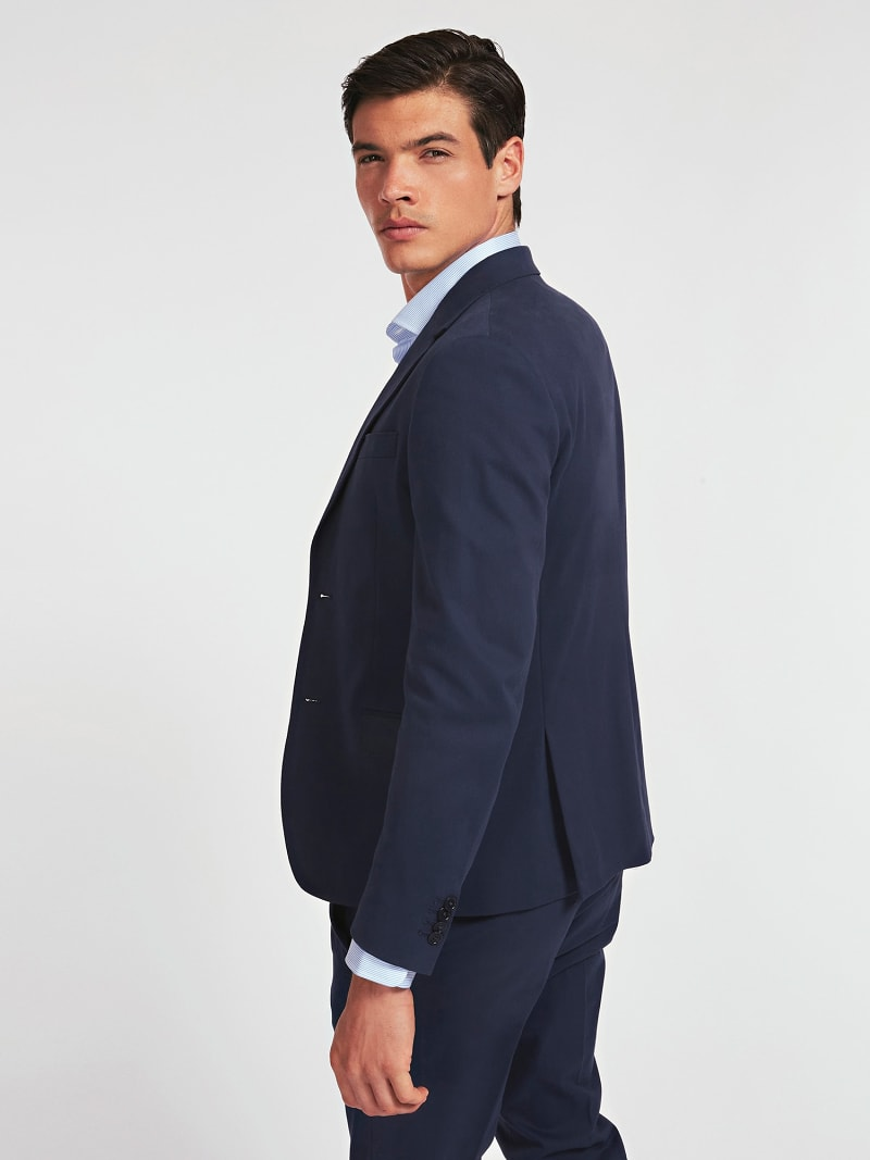 MARCIANO SUPIMA COTTON TWILL BLAZER image number 2