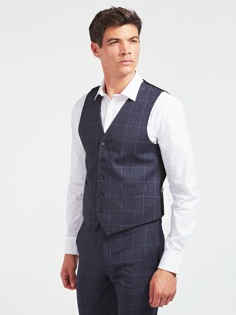 MARCIANO PRINCE OF WALES VEST image number 0