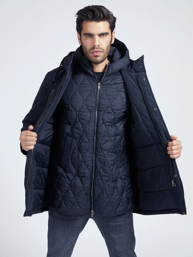 MARCIANO WOOL BLEND PARKA image number 3