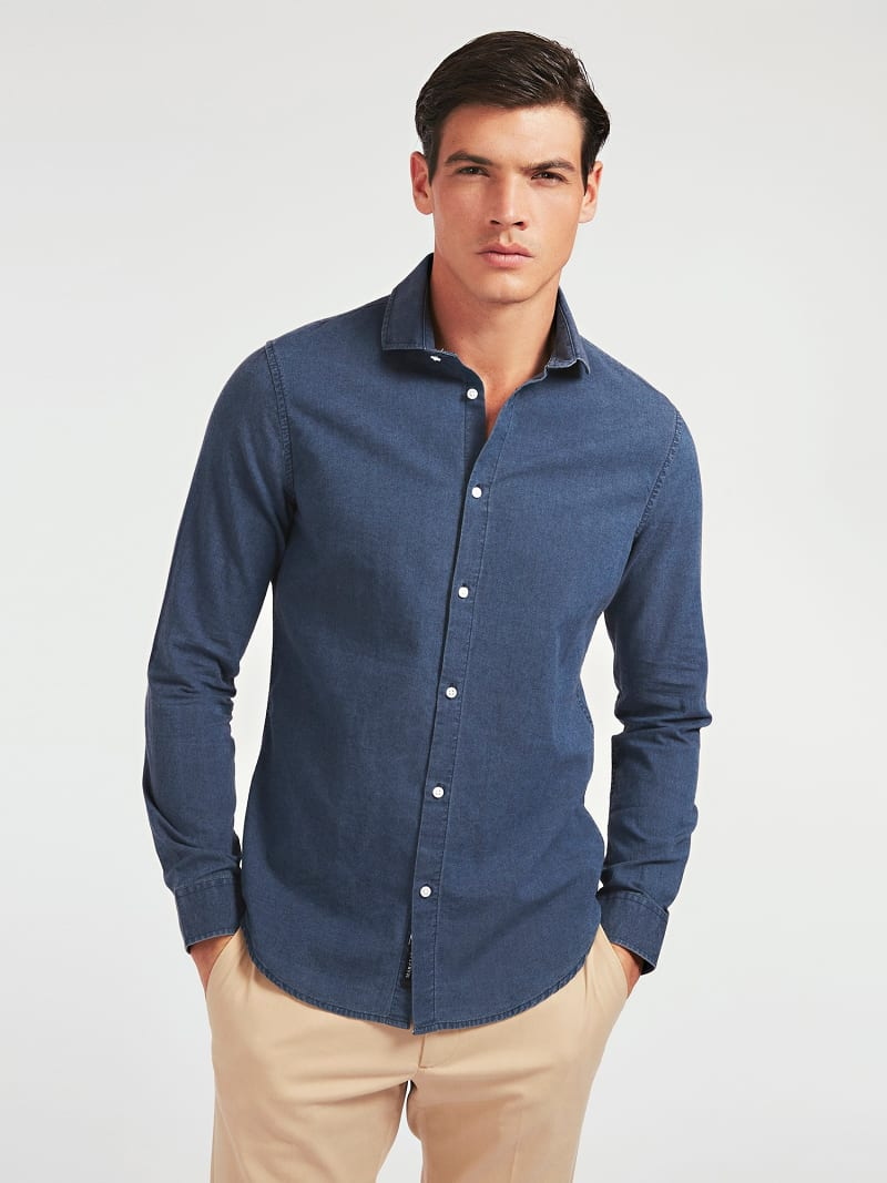 MARCIANO DENIM SHIRT image number 0