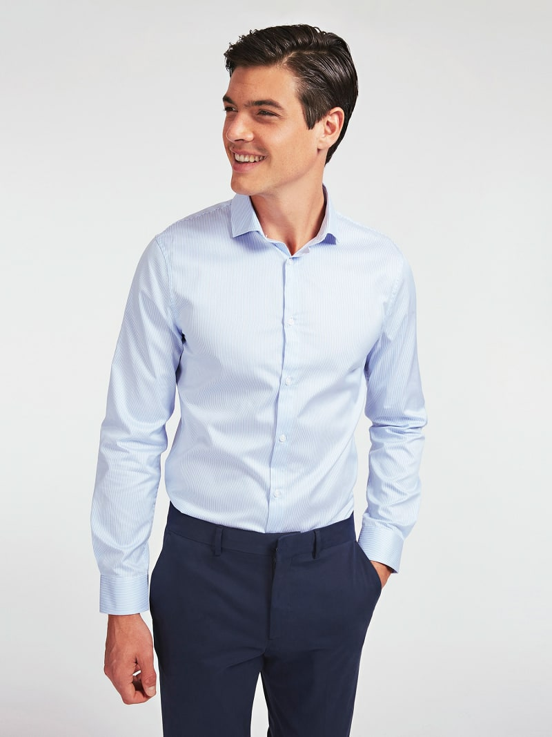 MARCIANO TWILL OVERHEMD image number 0