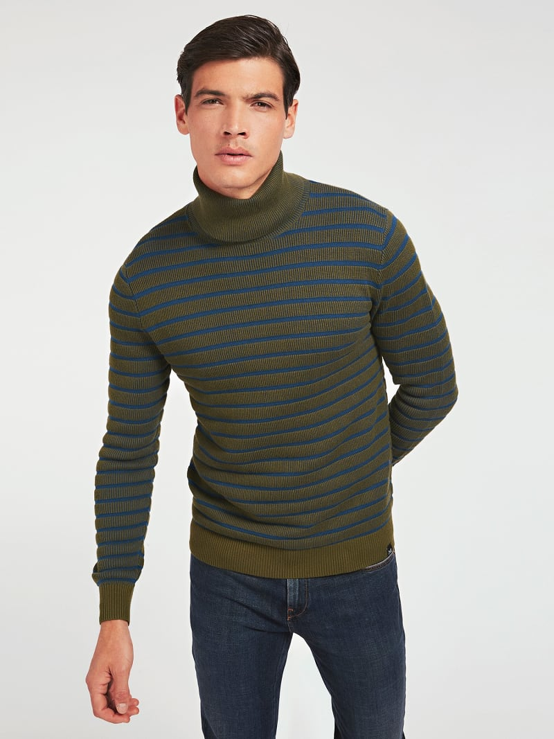 MARCIANO TURTLE NECK SWEATER image number 0