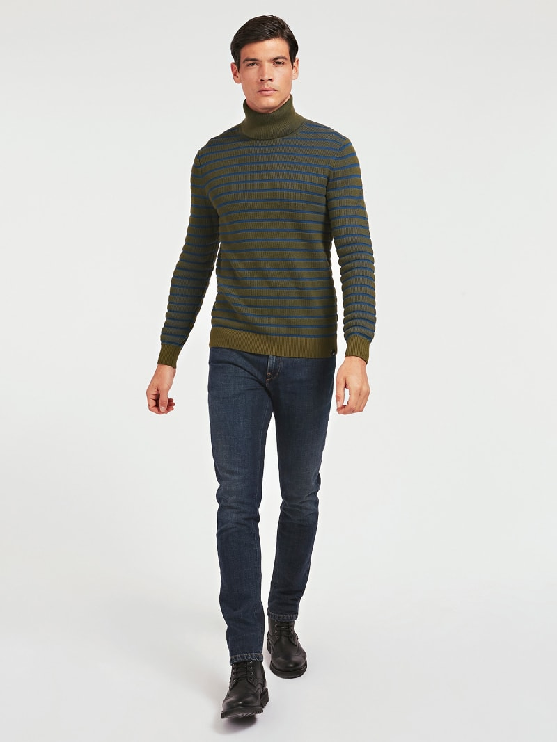 MARCIANO TURTLE NECK SWEATER image number 1