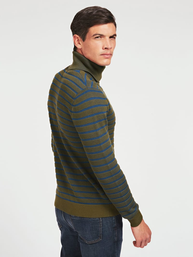 MARCIANO TURTLE NECK SWEATER image number 2