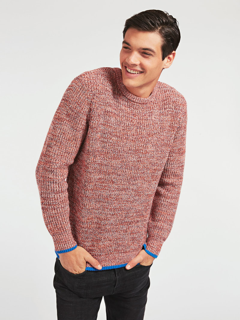 MARCIANO COTTON BLEND SWEATER image number 0