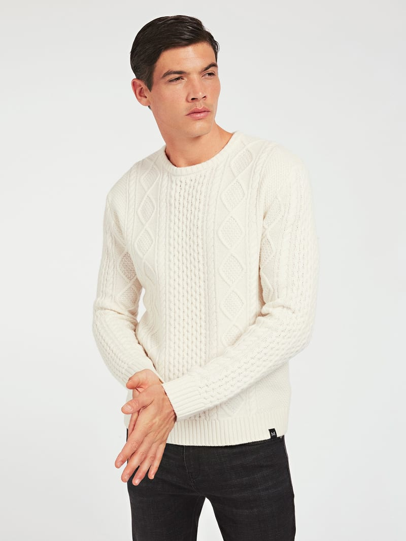MARCIANO WOOL SWEATER image number 0